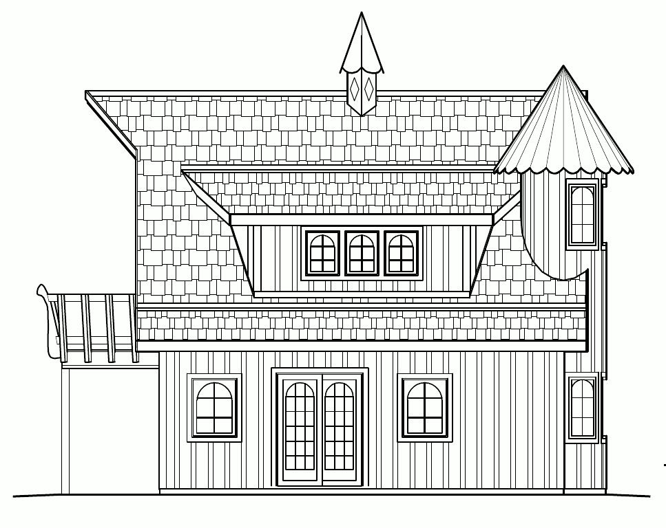 Small castle house plans floor plans for Small castle house plans