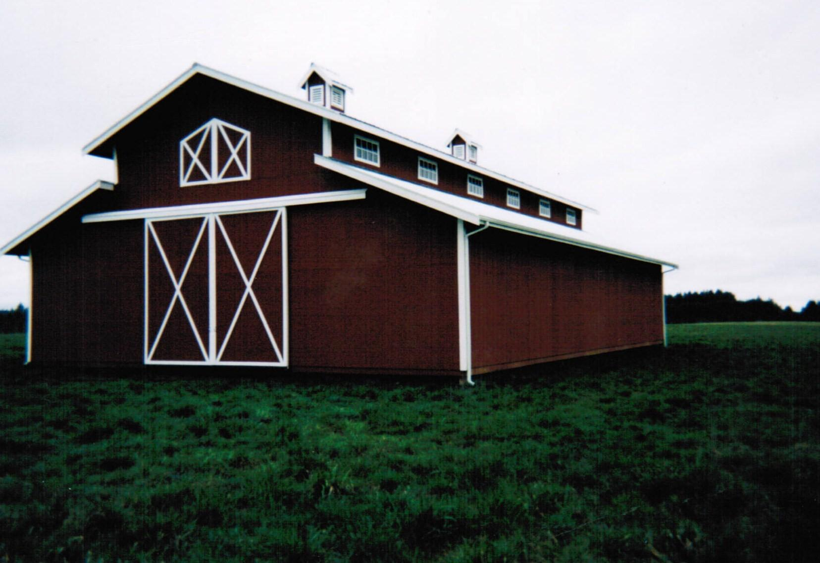 Bobbs for Monitor style pole barn