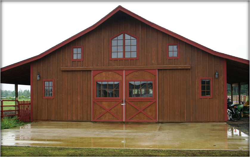 Offering Barn Kits, Barn Plans, Barn Doors, and Barn Windows