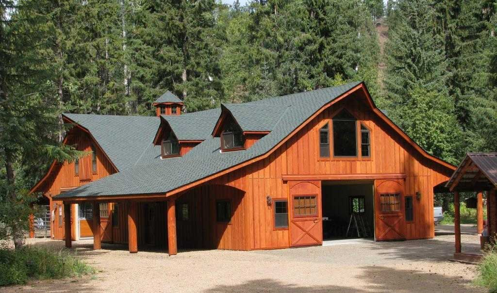 Classic Barn Home Plans - Timber Frame Homes, Post & Beam Homes