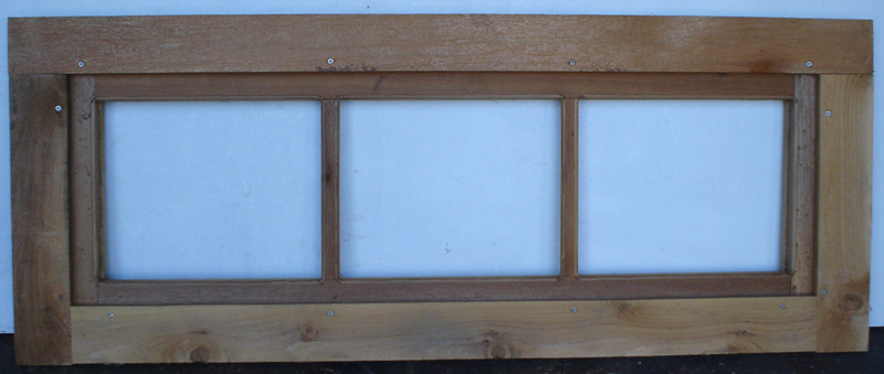 Cabin windows cabin window barn window for Custom transom windows